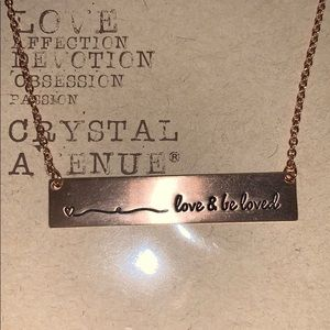 """Necklace """"Love and be loved"""""""